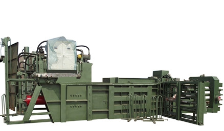 hydraulic-automatic baler machine