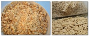 Make Pellet from Green Pine Sawdust