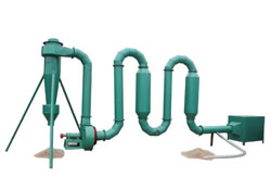 Small Sawdust Dryer-Pipe Type